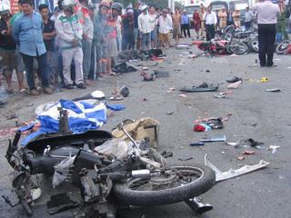 Lời khai của tài xế container gây tai nạn hàng chục người thương vong ở Long An