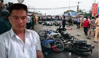 Khởi tố tài xế container tông hàng loạt xe máy khiến 4 người tử vong