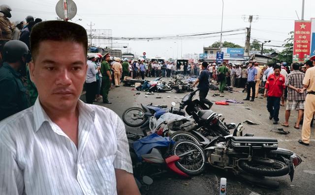 Khởi tố bị can với tài xế container tông hàng loạt xe máy khiến 4 người tử vong ở Long An