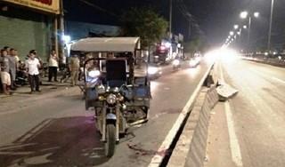 Gây tai nạn chết người, tài xế xe ba gác tăng ga bỏ trốn