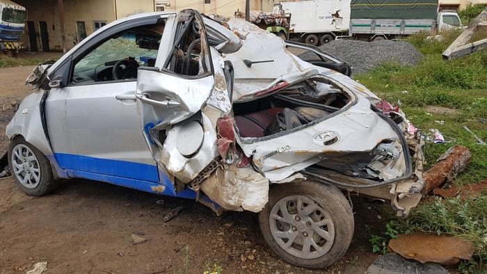 Nữ tài xế say rượu lái ô tô vận tốc 107km/h gây tai nạn làm 3 người tử vong. Ảnh Thanh Niên