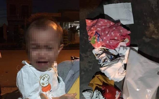 Bé gái 14 tháng tuổi mắc bệnh bị bỏ rơi cùng bức thư đáng suy ngẫm