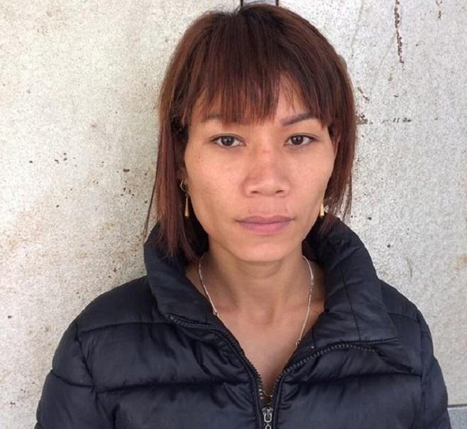 Chân dung người phụ nữ lừa bán em gái cùng bản sang Trung Quốc. Ảnh Công an cung cấp