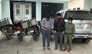 Nghệ An: Bắt nhóm đối tượng đánh xe hơi đi trộm chó, kiếm hàng chục triệu mỗi đêm