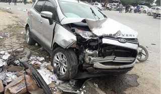 Hà Nội: Ô tô 'điên' gây tai nạn liên hoàn khiến 2 vợ chồng tử vong