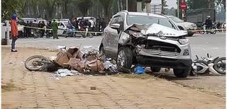 Vụ ô tô 'điên' gây tai nạn liên hoàn 2 vợ chồng tử vong: 'Trước khi đi bố gọi điện cho tôi 6 lần'