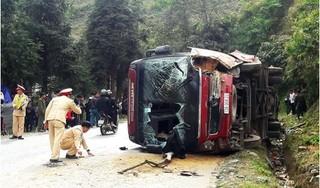 Xác định danh tính nạn nhân vụ xe khách chở 14 người bị lật ở Lào Cai
