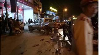 Người điều khiển ô tô gây tai nạn liên hoàn ở Sơn La là cán bộ CSGT?