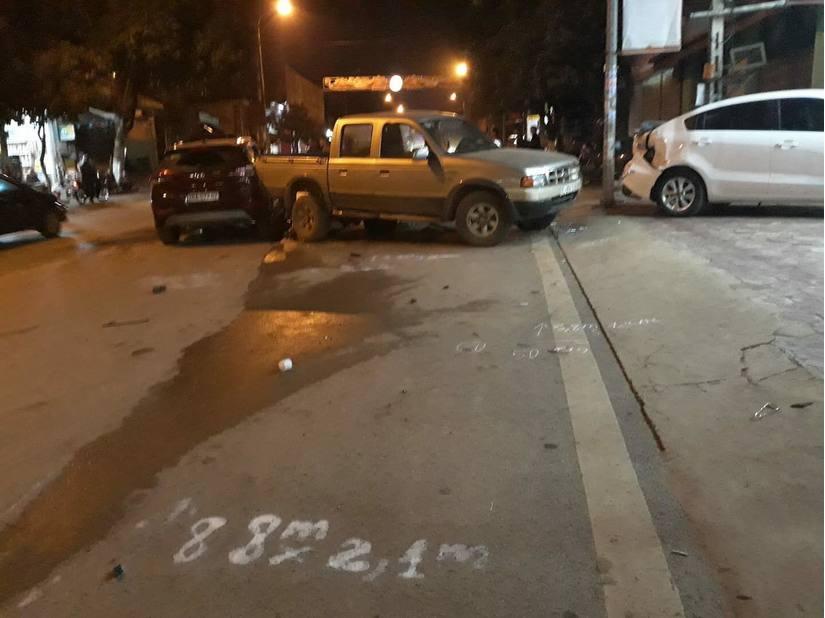 Nghi án CSGT có nồng độ cồn gây tai nạn liên hoàn ở Sơn La