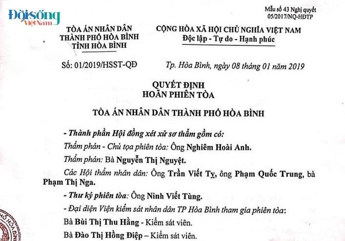 Hoãn phiên toà xét xử vụ chạy thận ở Hoà Bình vì Hoàng Công Lương vắng mặt6