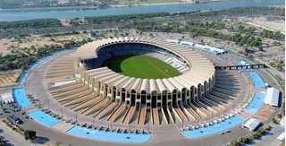 Chiêm ngưỡng sân vận động xịn nhất UAE, nơi tuyển Việt Nam đá với Iraq