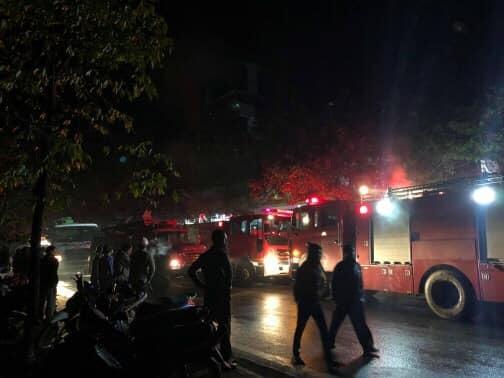 Lào Cai: 3 ngôi nhà bốc cháy dữ dội trong đêm, thiệt hại kinh tế hàng tỷ đồng