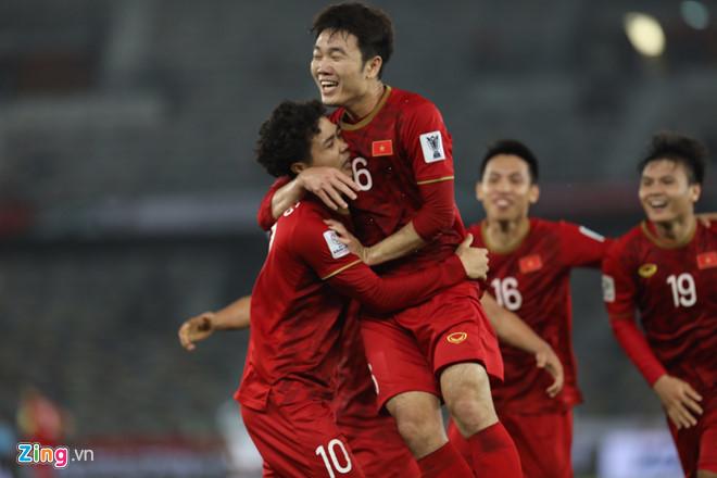 Đội tuyển Việt Nam nhận được nhiều lời ngợi khen từ cổ động viên quốc tế