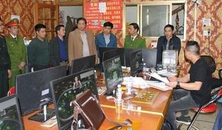 Công an Lào Cai triệt phá 3 tụ điểm cờ bạc online, bắt hàng chục đối tượng