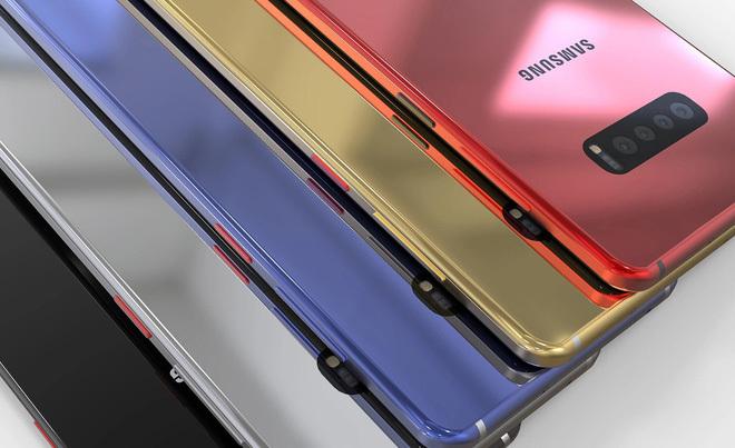 Galaxy S10 với vẻ ngoài đẹp long lanh và cụm camera chất chơi2