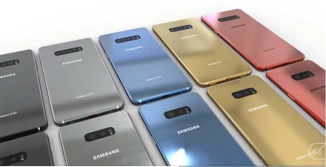 Galaxy S10 với vẻ ngoài đẹp long lanh và cụm camera chất chơi