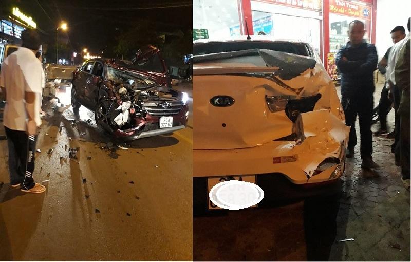 Cán bộ CSGT gây tai nạn liên hoàn ở Sơn La