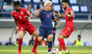 Vượt qua Bahrain với tỷ số tối thiểu, Thái Lan rộng cửa vào vòng 1/8