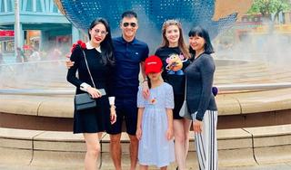 Con gái Thủy Tiên - Công Vinh ngày càng lớn phổng phao
