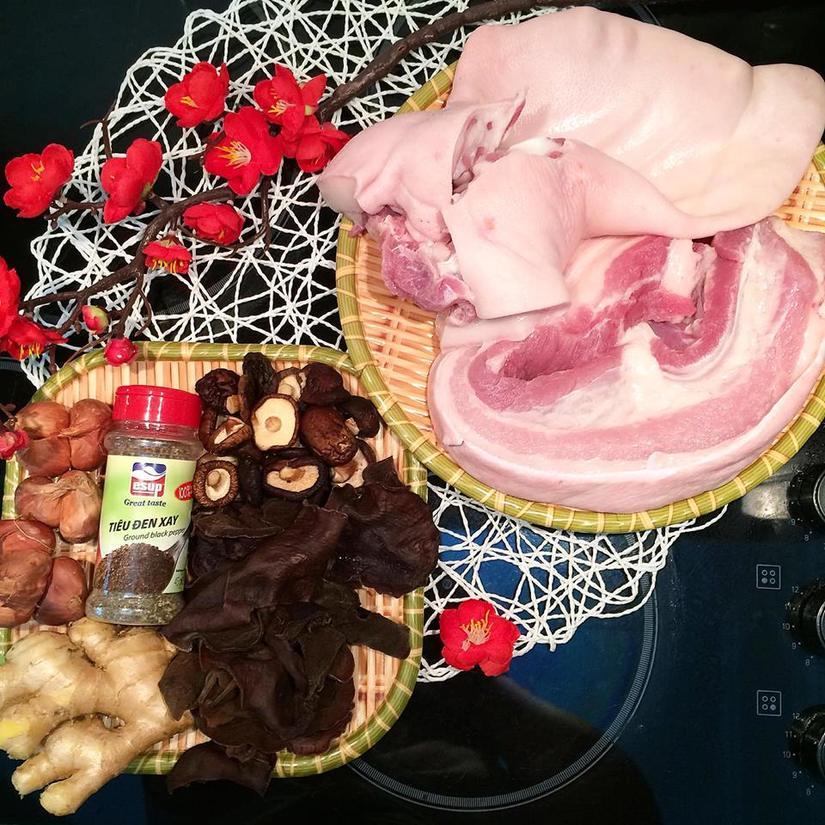 Học theo vợ đảm cách nấu thịt đông ngon, nhừ, trong veo cho ngày lạnh2
