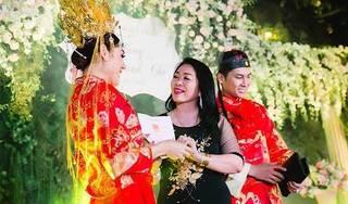 Lâm Khánh Chi cảm động rơi nước mắt khi được mẹ chồng tặng món quà lớn