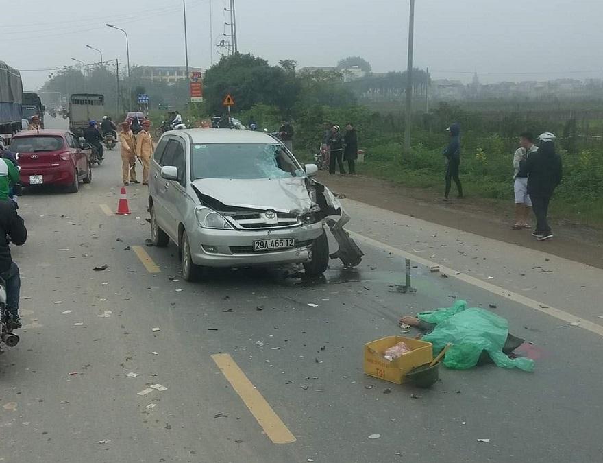 Tai nạn trên quốc lộ 32 khiến 2 người tử vong
