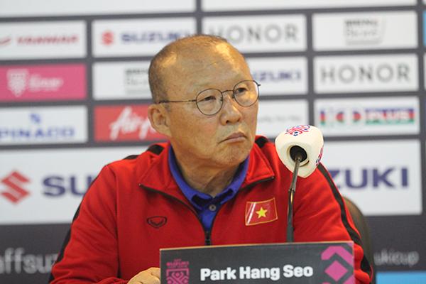 HLV Park Hang Seo ra nhiệm vụ sống còn cho học trò