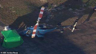 Phi công kỳ cựu bị cánh quạt trực thăng chặt đầu