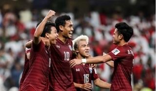 Tuyển Thái Lan nhận thưởng 'khủng' khi qua vòng bảng Asian Cup 2019