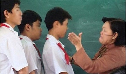 Thái Nguyên: Giáo viên bị tố phạt học sinh tự tát 50 cái vào mặt