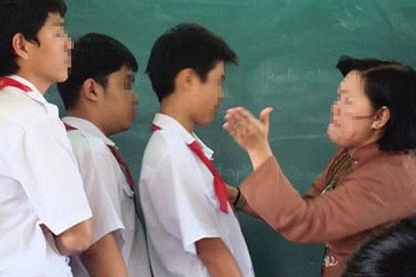 Thái Nguyên: Giáo viên tiểu học bị tố phạt học sinh tự tát 50 cái vào mặt?