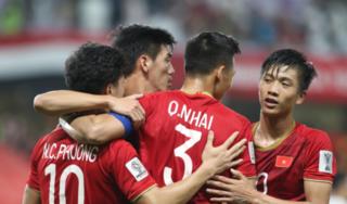 Đội tuyển Việt Nam đón tin cực vui sau chiến thắng Yemen