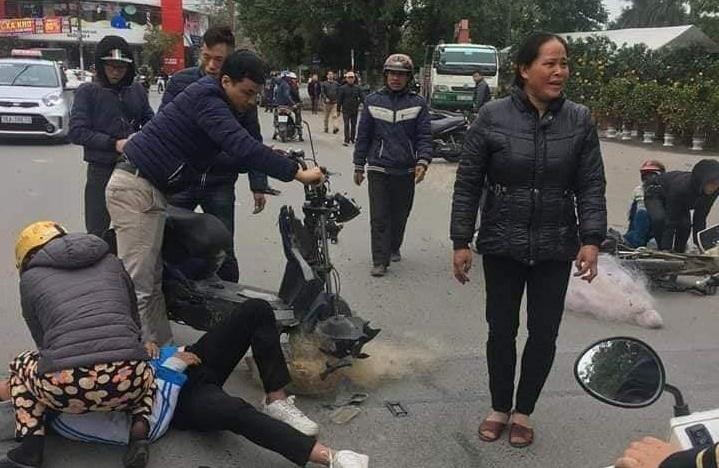 CSGT Thanh Hoá lên tiếng vụ việc 2 học sinh bị thương do bị quăng lưới nhầm