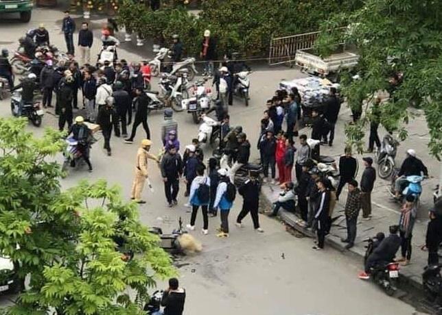 CSGT Thanh Hoá lên tiếng vụ việc 2 học sinh bị thương do bị quăng lưới nhầm2