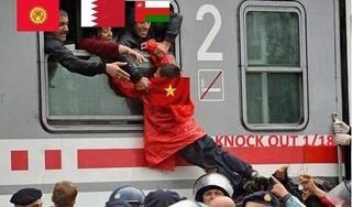 Loạt ảnh chế cực hài hước khi ĐT Việt Nam 'lọt qua khe cửa hẹp'