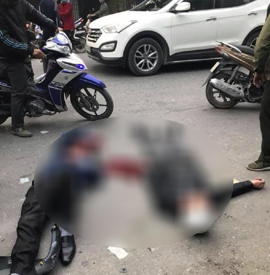 Một số người bị thương sau vụ tai nạn