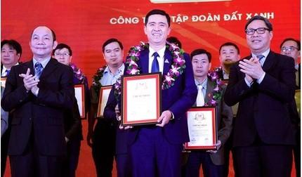 Đất Xanh xuất sắc lọt Top 10 doanh nghiệp tư nhân lớn nhất lĩnh vực bất động sản năm 2018