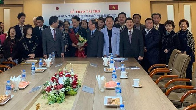 DN Nhật Bản tài trợ Quỹ cộng đồng phòng tránh thiên tai Việt Nam 1