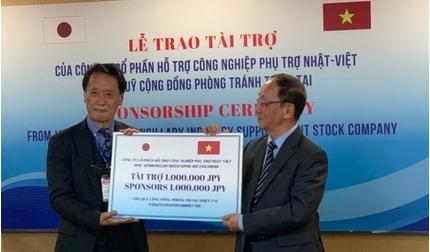 Doanh nghiệp Nhật Bản tài trợ 1 triệu Yên cho Quỹ cộng đồng phòng tránh thiên tai Việt Nam