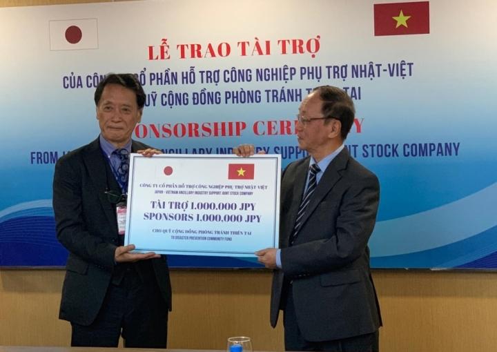 DN Nhật Bản tài trợ Quỹ cộng đồng phòng tránh thiên tai Việt Nam