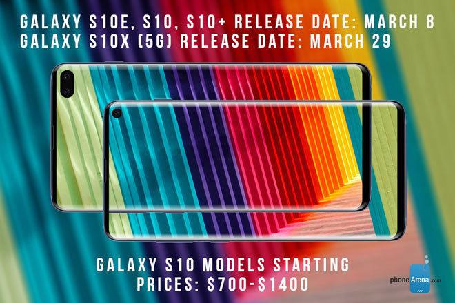 Galaxy S10 5G sẽ có tên là Galaxy S10X, pin 5000 mAh2