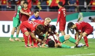 Việt Nam thăng hạng FIFA, lot top những 'ông lớn' châu Á sau chiến thắng Jordan