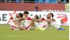Thất bại trước Việt Nam, cầu thủ Jordan sụp đổ, khóc nức nở vì tiếc nuối