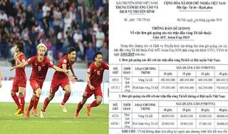 Giá quảng cáo tăng 'chóng mặt' sau khi Việt Nam vào tứ kết Asian Cup 2019