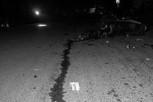 Bắc Giang: Xe máy đấu đầu kinh hoàng, 2 thanh niên tử vong