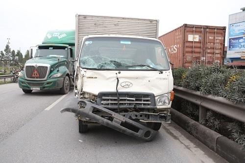 Chiếc xe tải gây tai nạn kinh hoàng