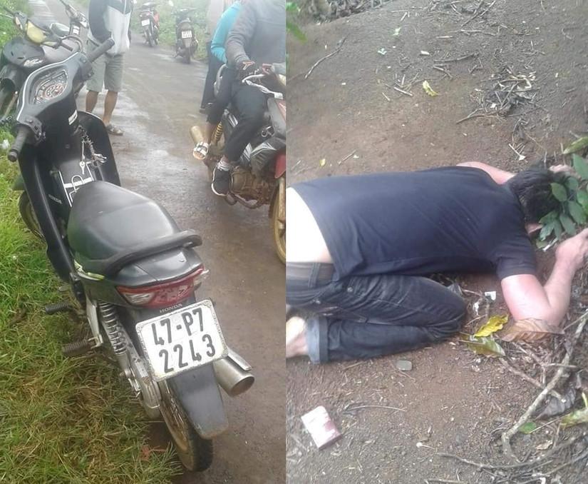 Thanh niên tử vong trong tư thế quỳ gối, úp mặt xuống đất
