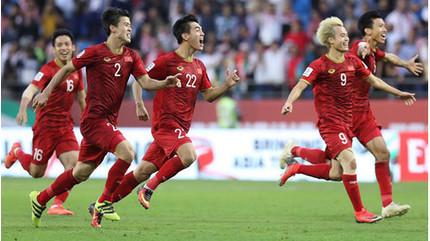 Việt Nam là đội bóng duy nhất đứng thứ 3 ở vòng bảng có mặt tại Tứ kết