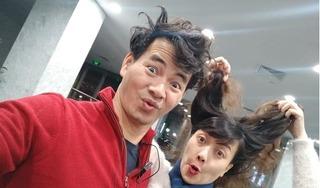 Xuân Bắc, Vân Dung khoe ảnh đầu xù tóc rối vì tập luyện Táo Quân 2019