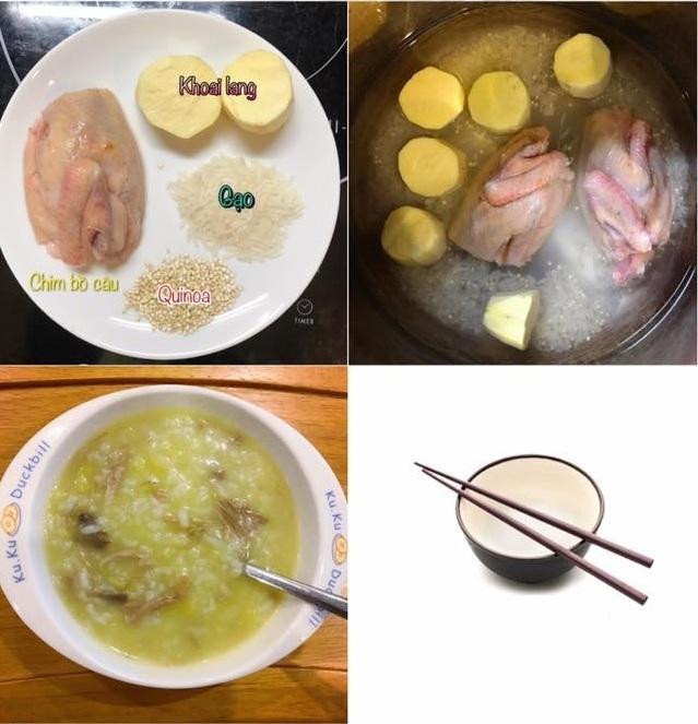 Mẹ đảm bật mí cách nấu cháo nhanh và bổ dưỡng cho bé trong ngày Tết6